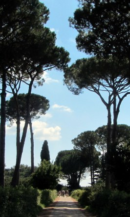 Romwärts auf der Via Cassia