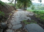 Die Via Cassia bei Montefiascone
