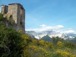 Marmorberge bei Massa/Carrara - A5