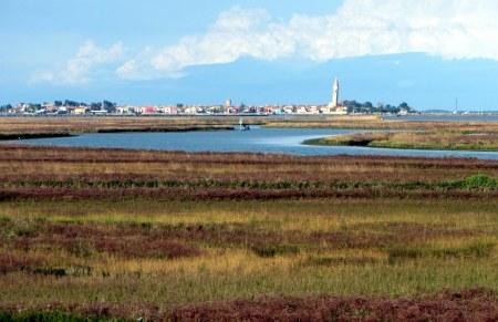 Die Lagune Venedigs