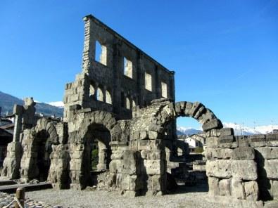 Römerstadt Aosta